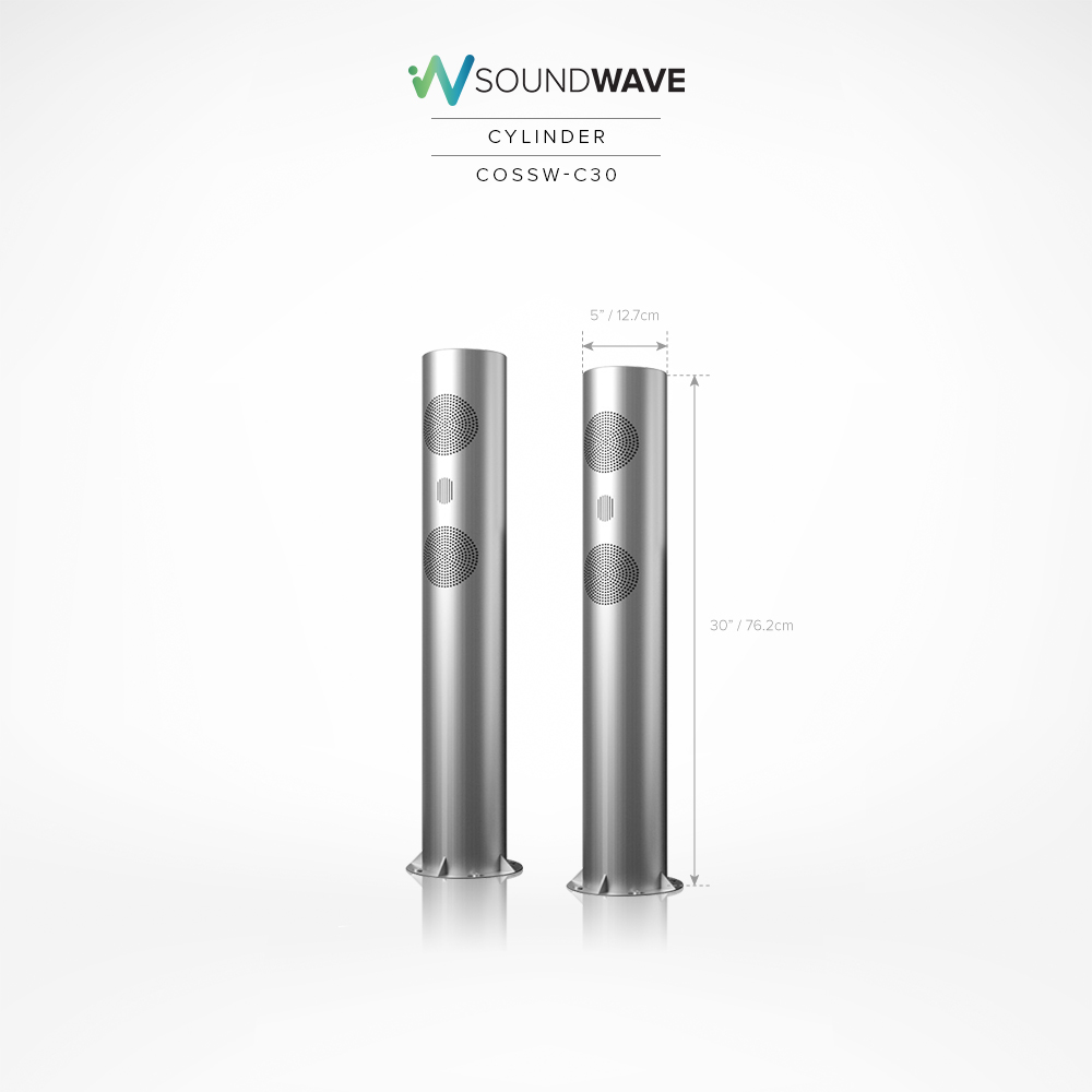 SoundWave Cylinder 30″ (COSSW-C30)