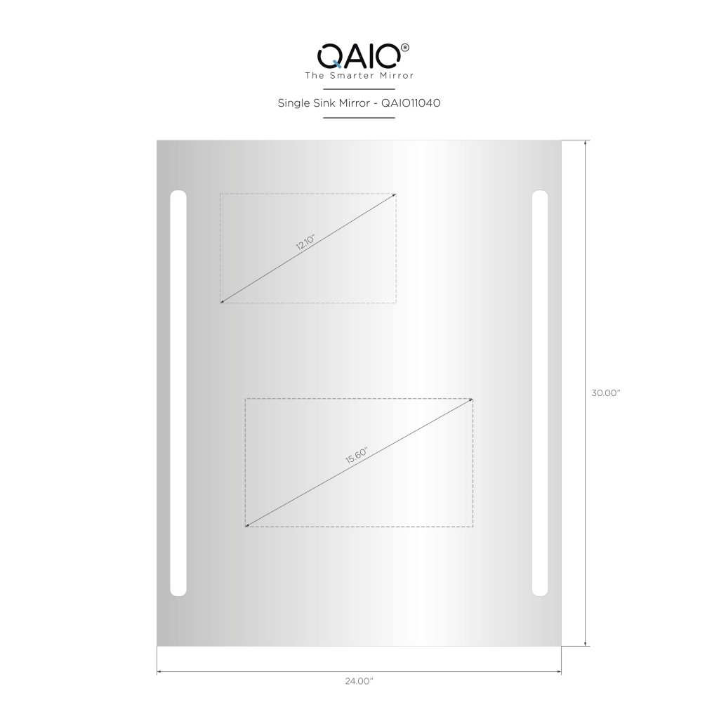 "QAIO 24″ wide x 30"" high, with 15.6"" TV (QAIO11040)"