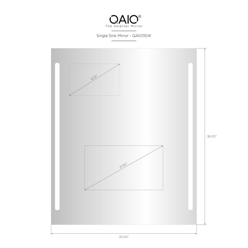 "QAIO 30″ wide x 36"" high, with 22"" TV (QAIO11041)"
