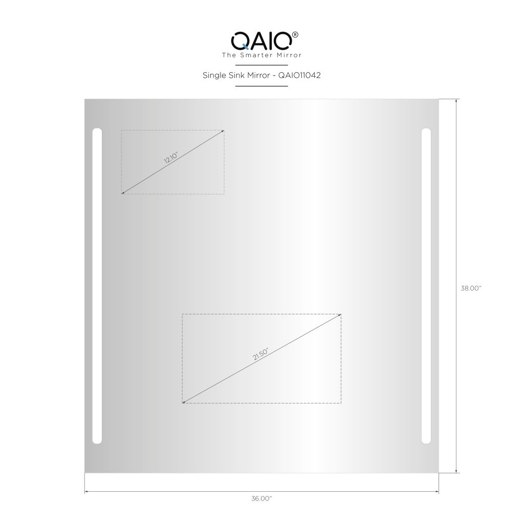 "QAIO 36″ wide x 38"" high, with 22"" TV (QAIO11042)"